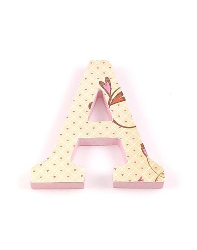 Decorated Letter Vintage