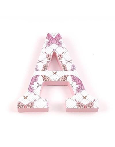 Letra decorada Butterfly
