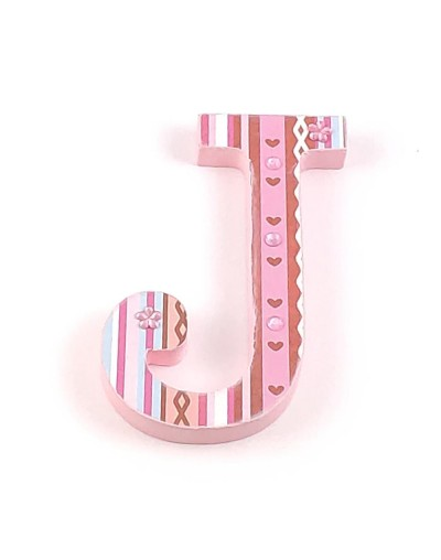 Letra decorada Stripes