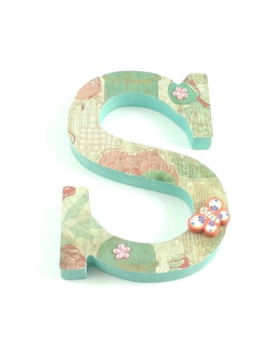 Decorated letter Spring