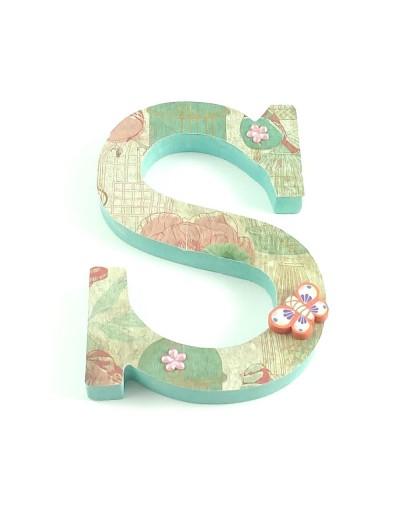 Letra decorada Spring